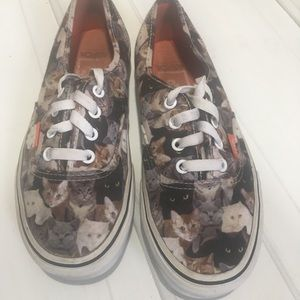 Vans Shoes - ASPCA Rare Cat Vans Women's Sneakers Size US 7
